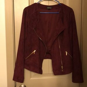 Dressy moto jacket